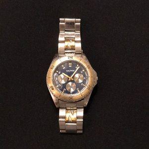 Men's Nautica silver/gold watch.